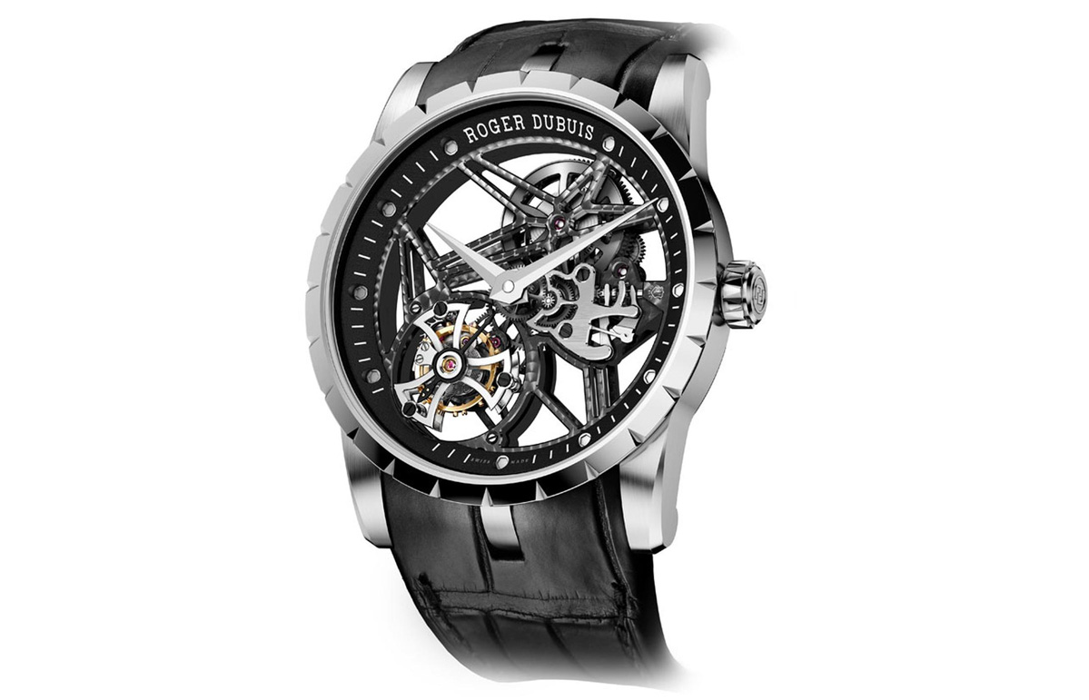 high quality roger dubuis excalibur 42 skeleton tourbillon replica watches