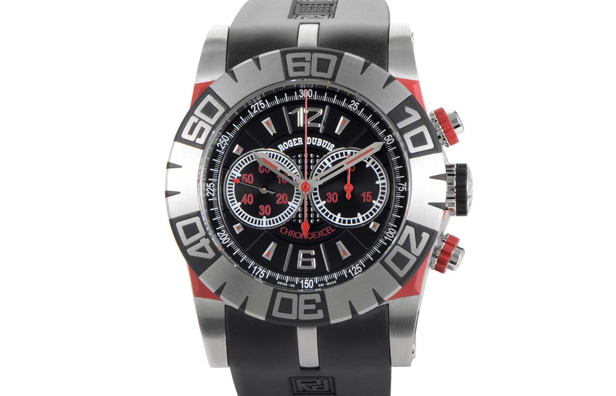 swiss roger dubuis easy diver chronograph replica watches cheap sale