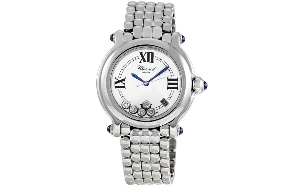 top quality chopard happy sport diamond ladies replica watches