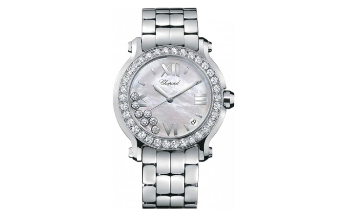 chopard happy  sport diamond replica watches cheap price
