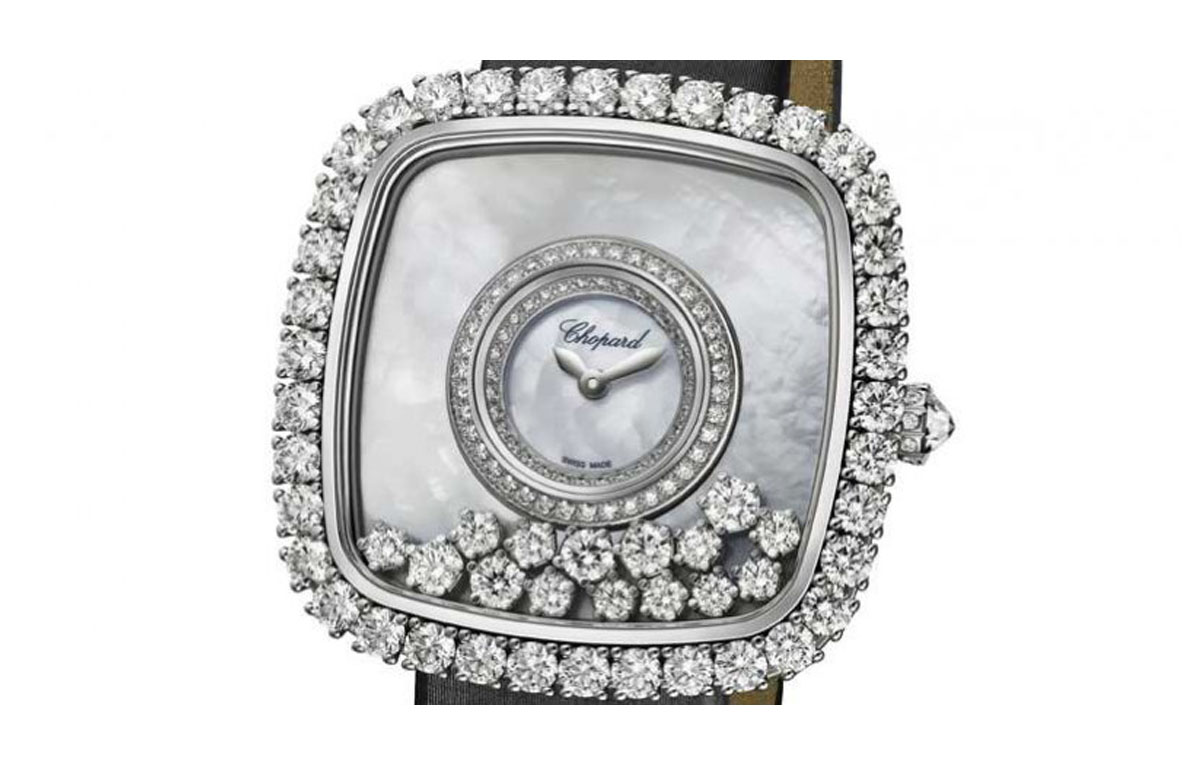 swiss best quality chopard happy diamond replica watches